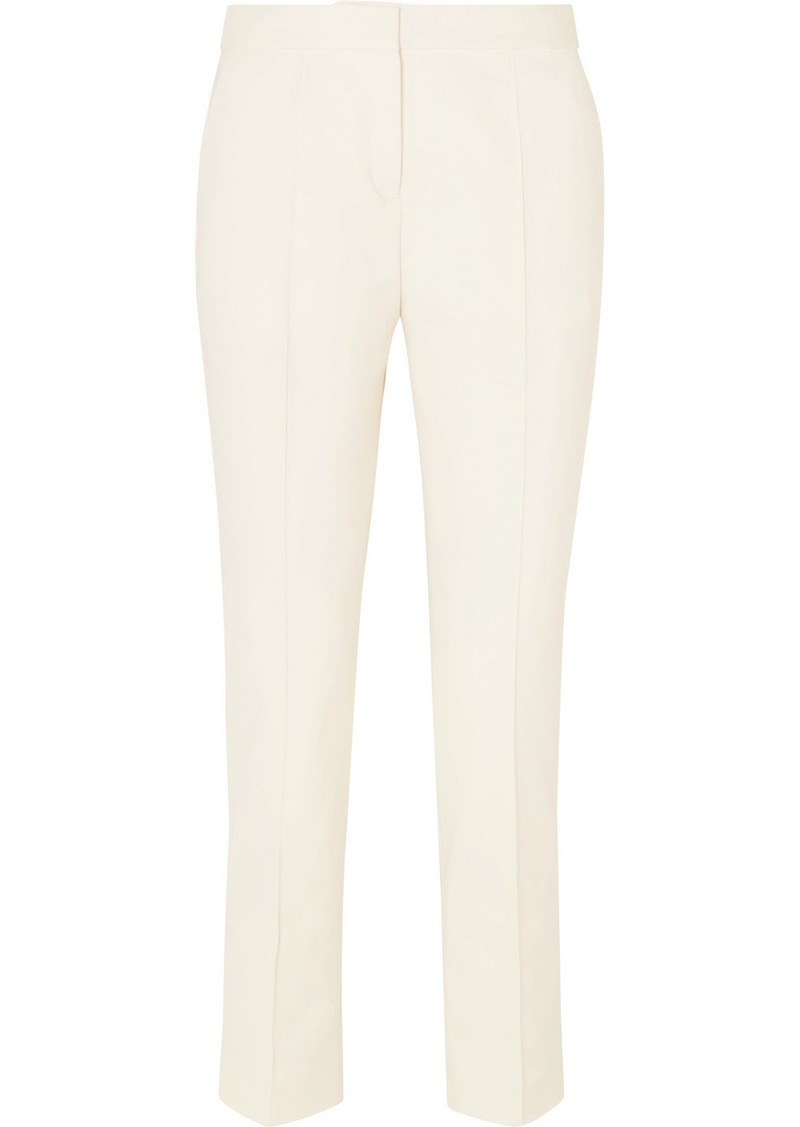 By Malene Birger Santsi Cotton-blend Cady Tapered Pants