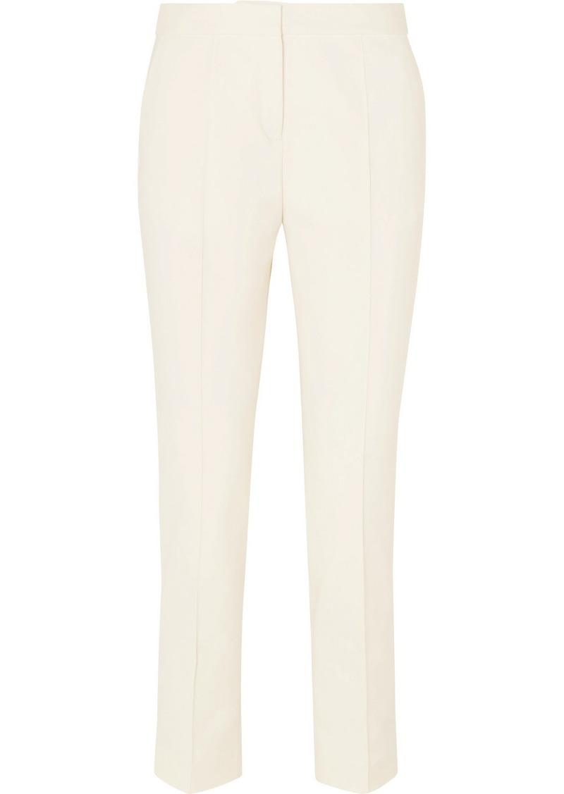 By Malene Birger Santsi Cotton-blend Cady Tapered Pants