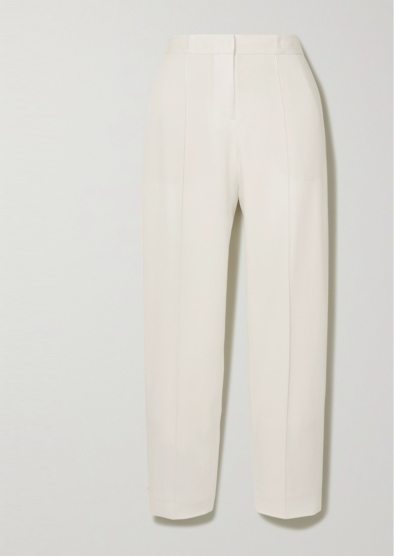 By Malene Birger Santsi Cropped Slim-fit Pants
