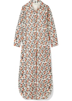 By Malene Birger Sultry Floral-print Cotton Maxi Dress