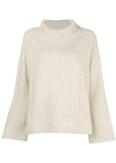 By Malene Birger turtleneck loose fit sweater