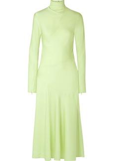 By Malene Birger Welecio Silk-blend Turtleneck Midi Dress