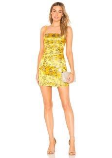 by the way. Amanda Floral Brocade Dress