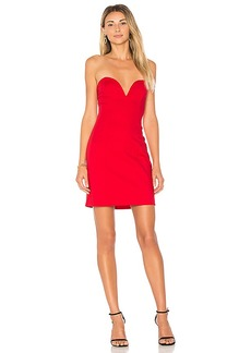 by the way. Alessia Sweetheart Bodycon Mini Dress