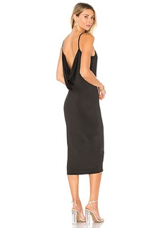 by the way. Aubrie Cowl Back Midi Dress
