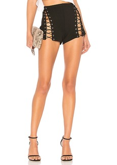 by the way. Ava Lace Up Short
