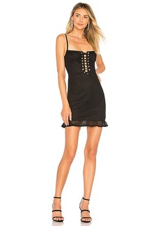 by the way. Caylee Lace Up Dress