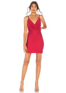 by the way. Claudette Surplice Mini Dress