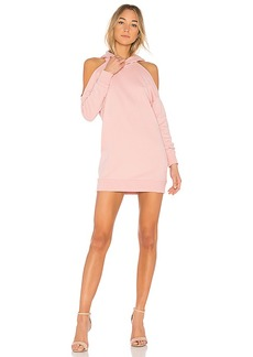 by the way. Delia Cold Shoulder Sweatshirt Dress