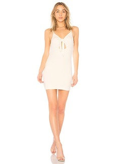 by the way. Haley Tie Front Dress