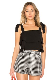 by the way. Helene Tie Strap top
