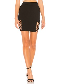 by the way. Imogen Lace Up Mini Skirt