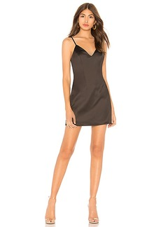by the way. Kacie Satin Mini Dress