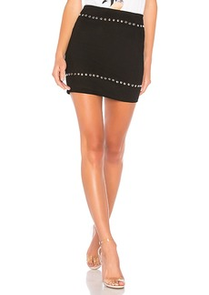 by the way. Kole Studded Mini Skirt