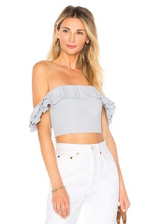 by the way. Lana Ruffle Crop Top