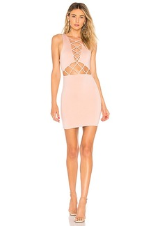 by the way. Lauryn Lace Up Cut Out Dress
