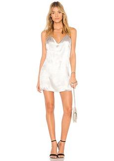 by the way. Lucia Metallic Mini Dress