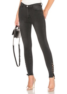 by the way. Madelyn Lace Up Skinny Jeans