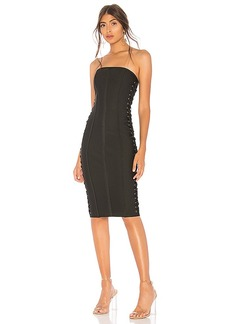 by the way. Mimi Lace Up Strapless Dress