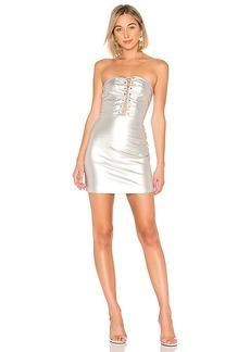 by the way. Minka Lace Up Tube Dress