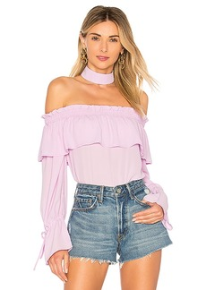 by the way. Olive Off Shoulder Top