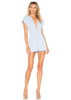 by the way. Penny Deep V Romper