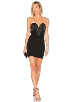 by the way. Sasha Strapless Fringe Dress