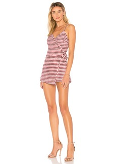 by the way. Scotty Wrap Romper