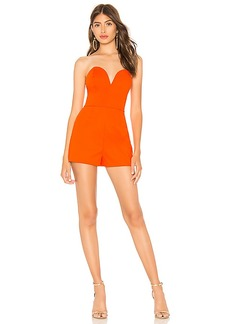 by the way. Shary Sweetheart Strapless Romper