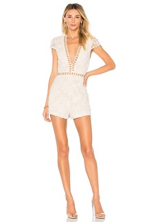 by the way. Simone Lace Romper