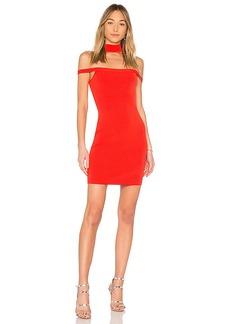 by the way. Sophia Choker Knit Mini Dress