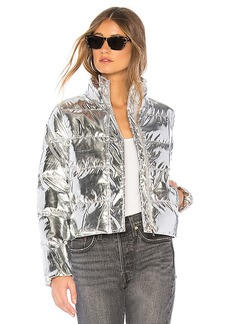 by the way. Stella Metallic Puffer Jacket