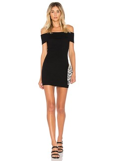 by the way. Tara Off Shoulder Knit Mini Dress
