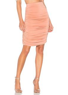 by the way. Tatiana Ruched Midi Skirt