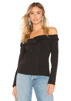 by the way. Tyler Off Shoulder Blazer Top
