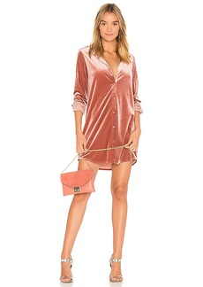 by the way. Vella Velvet Mini Dress
