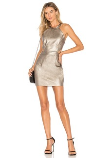 by the way. Willa Faux Leather Mini Dress