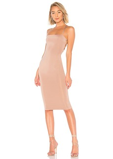 by the way. Yvonne Laced Back Midi Dress