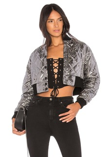 by the way. Cyndi Quilted Bomber