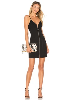 by the way. Illie Zip Front Mini Dress