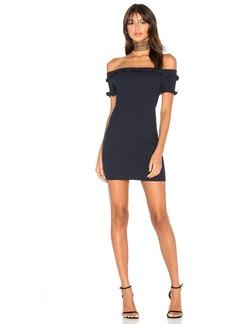 by the way. Lainey Ruffle Mini Dress