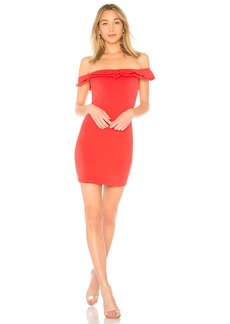 by the way. Mattie Ruffle Mini Dress