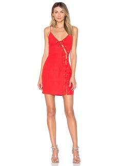 by the way. Raquel Lace Up Dress