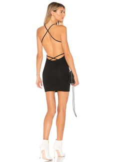 by the way. Riza Open Back Dress