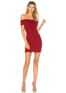 by the way. Tara Off Shoulder Knit Mini Dress