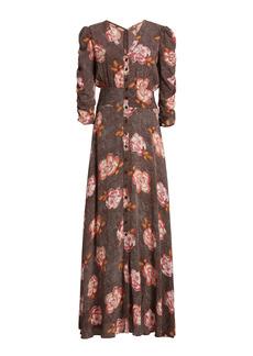 byTiMo - Women's Spring Printed Crepe Maxi Dress - Print - Moda Operandi
