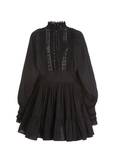 byTiMo Broderie-Anglaise Organic Cotton Mini Dress