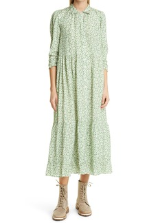 byTiMo Delicate Ditsy Floral Shirtdress