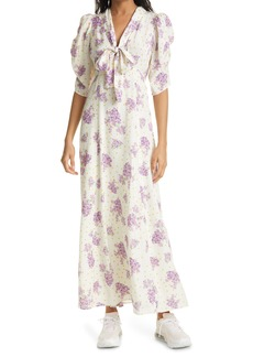 byTiMo Delicate Floral Bow Tie Dress
