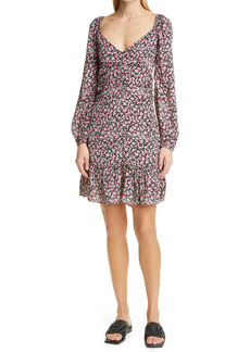 byTiMo Delicate Floral Long Sleeve Dress